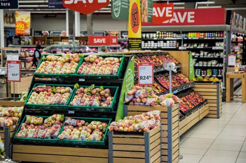 buy everything at supermarket