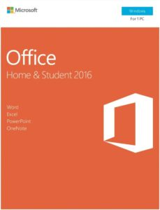 microsfot office 2016 student edition