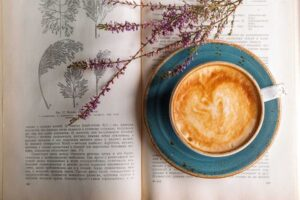 relax and have a cup of coffee