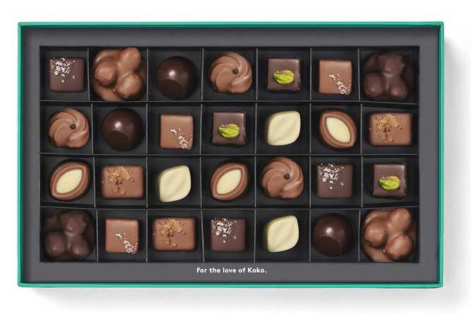 Nuts To Caramel Collection Praline Gift Box